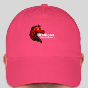 stalloins hat pink